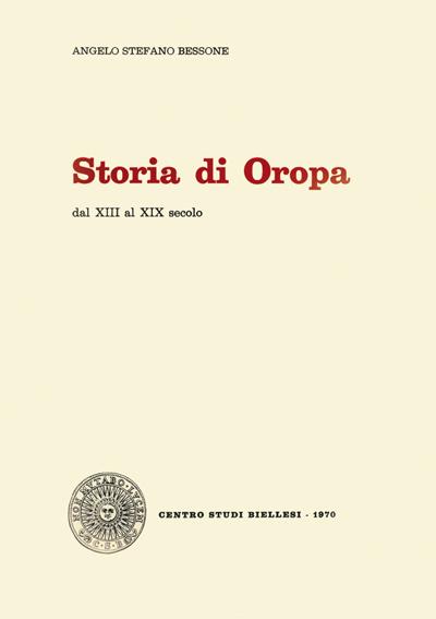 Storia di Oropa dal XIII al XIX secolo