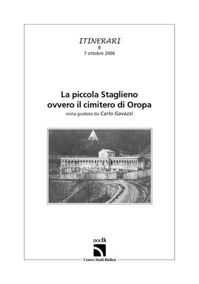 La piccola Staglieno ovvero il cimitero di Oropa