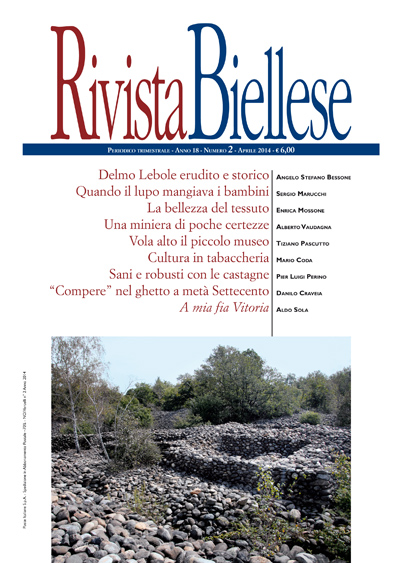 Rivista Biellese - Aprile 2014