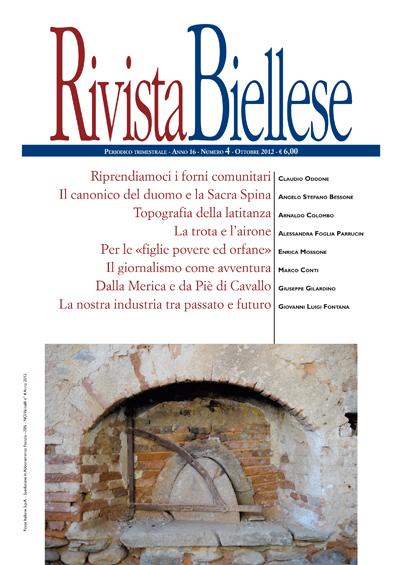 Rivista Biellese - Ottobre 2012