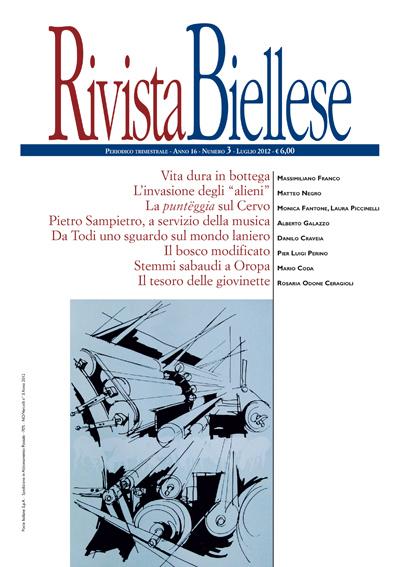 Rivista Biellese - Luglio 2012