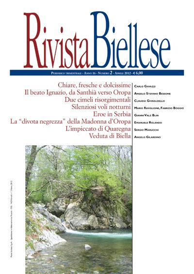 Rivista Biellese - Aprile 2012