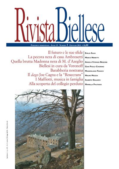 Rivista Biellese - Gennaio 2011