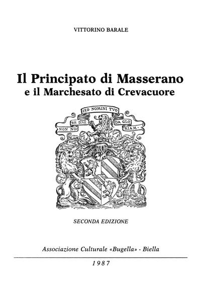 Il principato di Masserano e il marchesato di Crevacuore