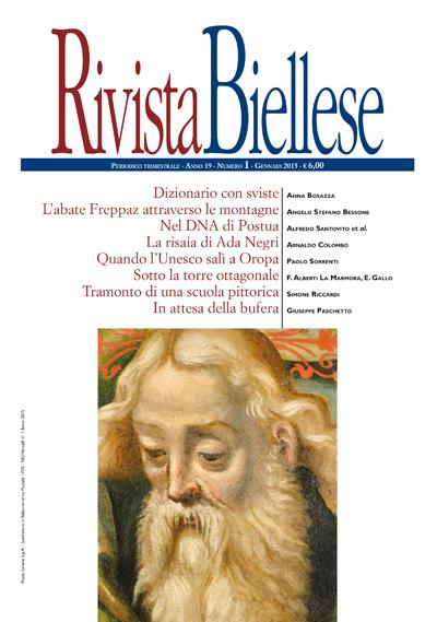Rivista Biellese - Gennaio 2015
