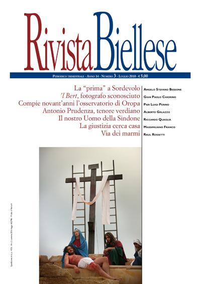 Rivista Biellese - Luglio 2010