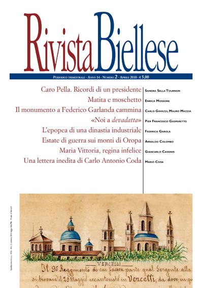 Rivista Biellese - Aprile 2010