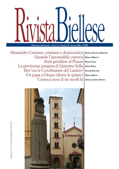 Rivista Biellese - Luglio 2009