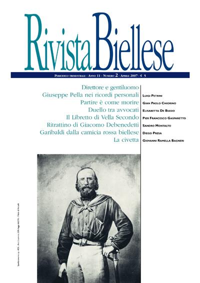 Rivista Biellese - Aprile 2007