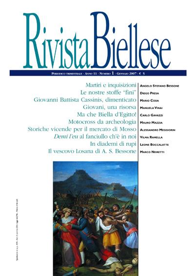 Rivista Biellese - Gennaio 2007