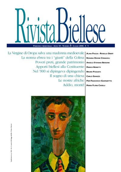 Rivista Biellese - Luglio 2006
