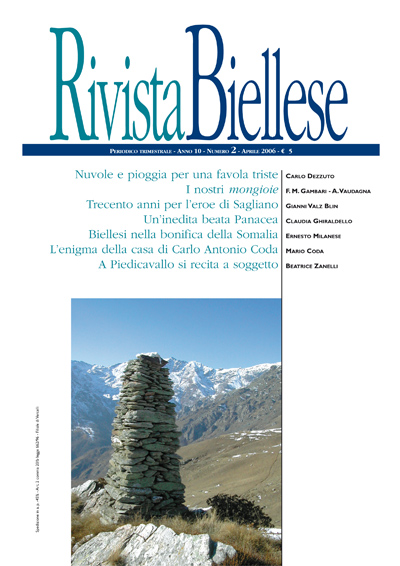 Rivista Biellese - Aprile 2006