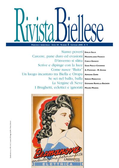Rivista Biellese - Gennaio 2006