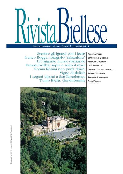 Rivista Biellese - Luglio 2005