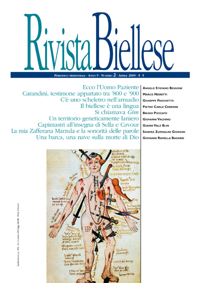 Rivista Biellese - Aprile 2005