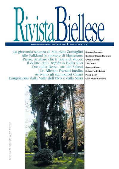Rivista Biellese - Gennaio 2005