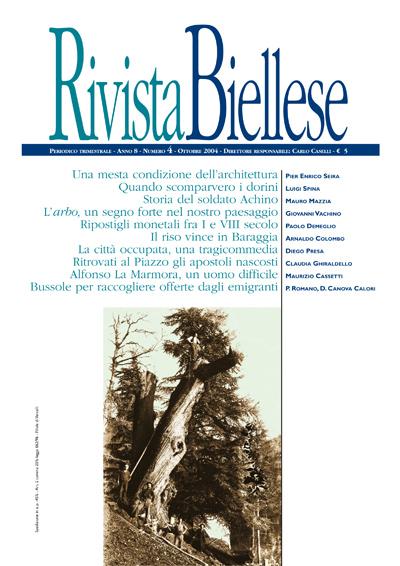 Rivista Biellese - Ottobre 2004