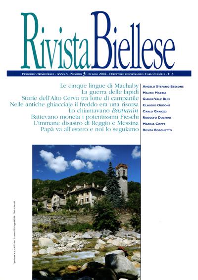 Rivista Biellese - Luglio 2004