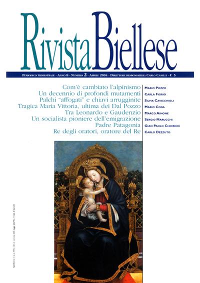 Rivista Biellese - Aprile 2004