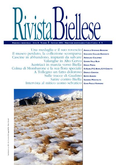 Rivista Biellese - Gennaio 2004