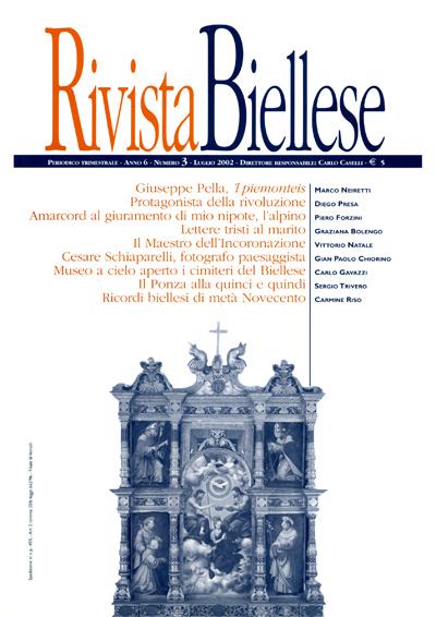 Rivista Biellese - Luglio 2002
