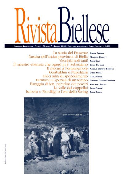 Rivista Biellese - Luglio 2000