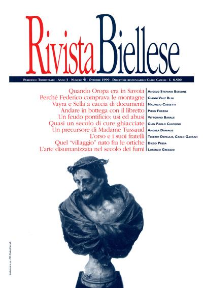 Rivista Biellese - Ottobre 1999