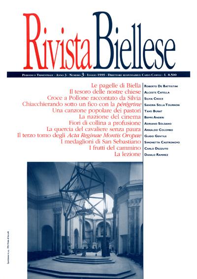 Rivista Biellese - Luglio 1999