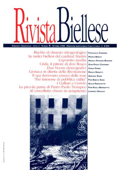 Rivista Biellese - Ottobre 1998