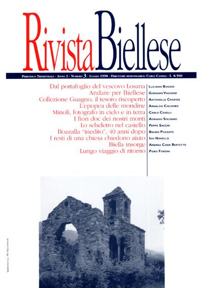 Rivista Biellese - Luglio 1998