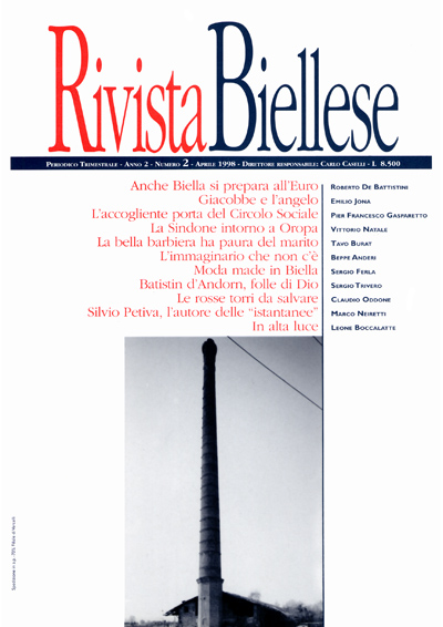 Rivista Biellese - Aprile 1998