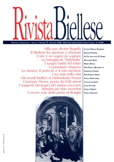 Rivista Biellese - Gennaio 1998