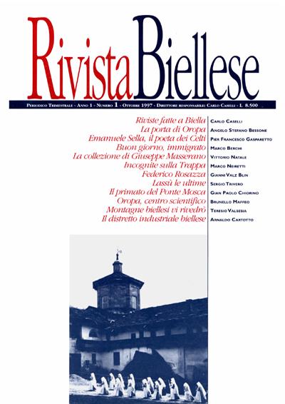 Rivista Biellese - Ottobre 1997