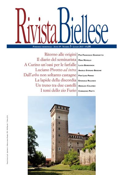 Rivista Biellese - Luglio 2015