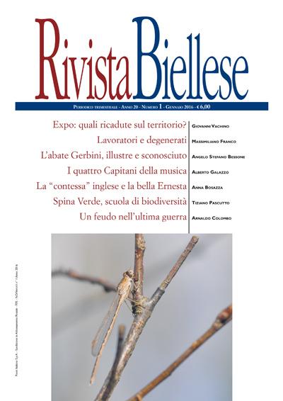 Rivista Biellese - Gennaio 2016
