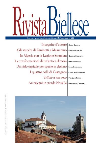 Rivista Biellese - Aprile 2016