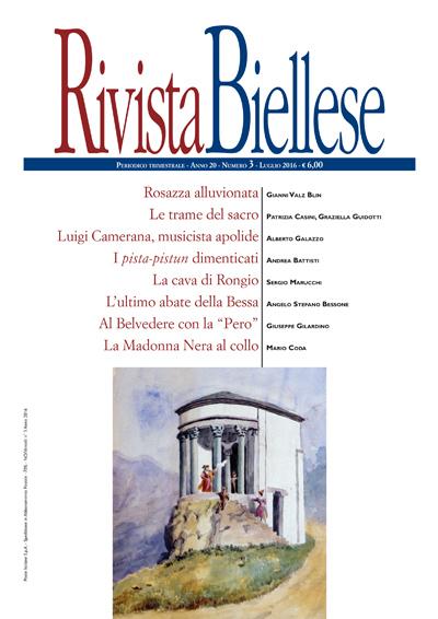 Rivista Biellese - Luglio 2016