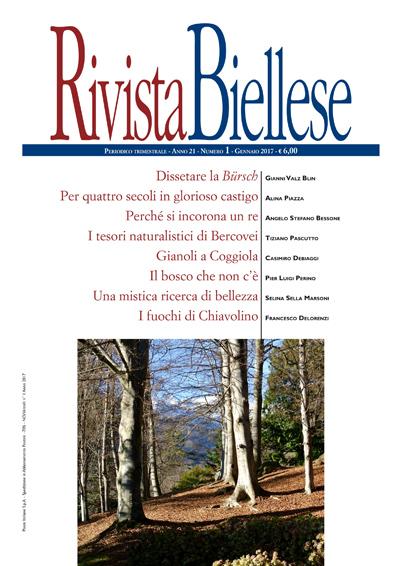 Rivista Biellese - Gennaio 2017