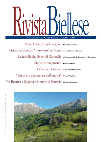 Rivista Biellese - Luglio 2017