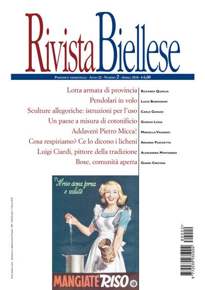 Rivista Biellese - Aprile 2018