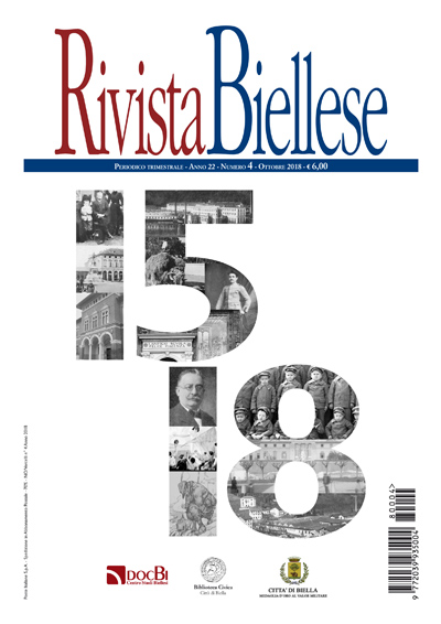 Rivista Biellese - Ottobre 2018