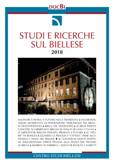 Studi e ricerche sul Biellese - Bollettino  2018