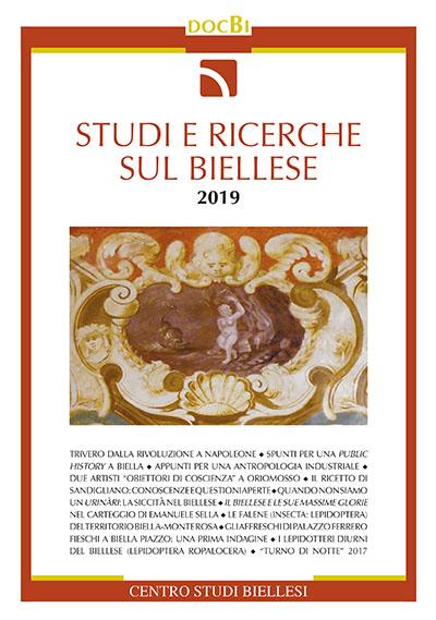 Studi e ricerche sul Biellese - Bollettino 2019