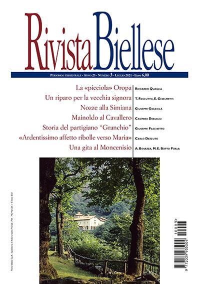 Rivista Biellese - Luglio 2021