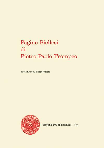 Pagine biellesi di Pietro Paolo Trompeo