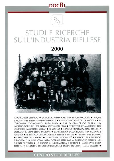 Studi e ricerche sull'industria biellese - Bollettino 2000