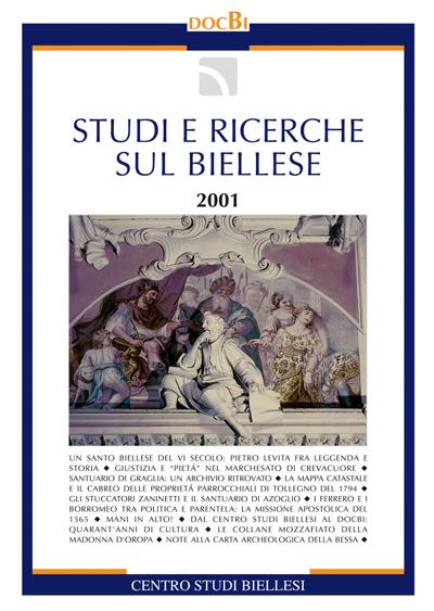 Studi e ricerche sul Biellese - Bollettino 2001