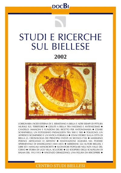 Studi e ricerche sul Biellese - Bollettino 2002