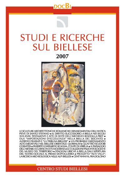 Studi e ricerche sul Biellese - Bollettino 2007