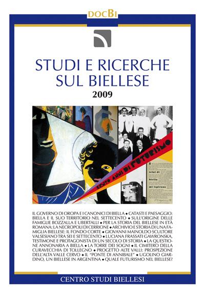 Studi e ricerche sul Biellese - Bollettino 2009